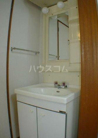 サンヴィレッヂノムラ 204号室の洗面所