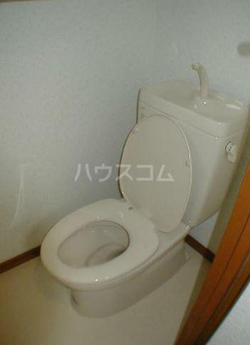 サンヴィレッヂノムラ 204号室のトイレ