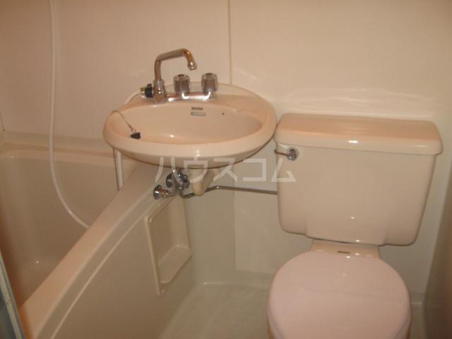 シティハイムアサヒⅡ 101号室の洗面所