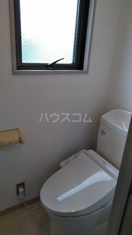 カルム成川 303号室のトイレ