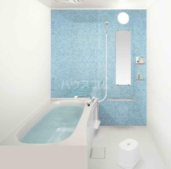 プラージュ王子神谷 202号室の風呂