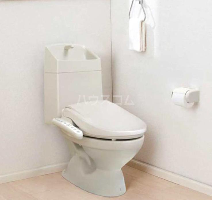 プラージュ王子神谷 202号室のトイレ