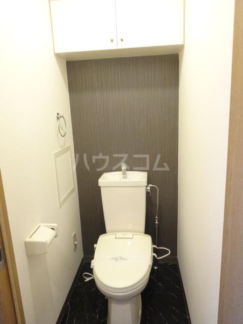 クラヴァス長岡京 101号室のトイレ