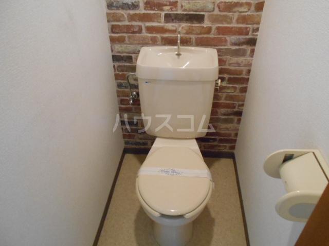 スカイロード御池 202号室のトイレ