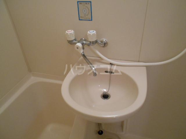 スカイロード御池 202号室の洗面所