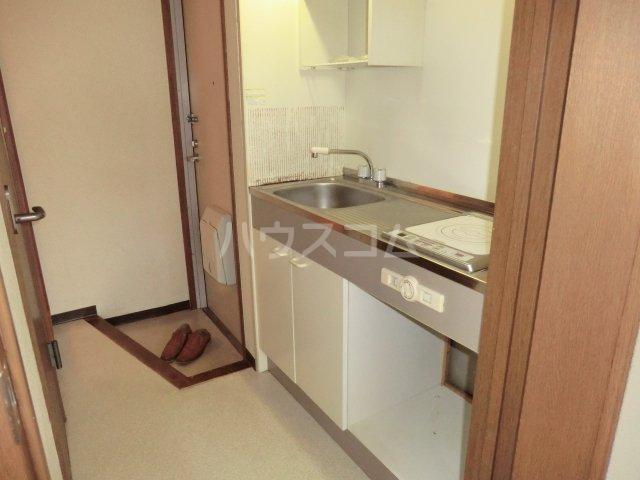 アーク21 106号室のキッチン