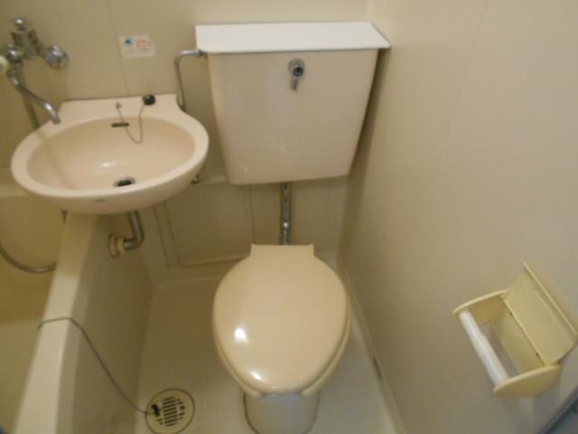 レジデンスオークラ C204号室のトイレ