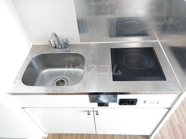 ラポール 105号室のキッチン