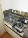 ローリエハイム 0102号室のキッチン
