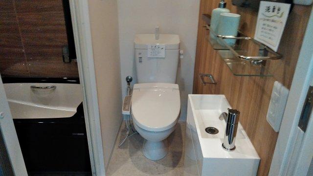 レナジア和泉府中 402号室のトイレ