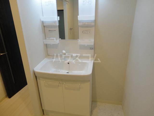 ルナパリス 202号室の洗面所