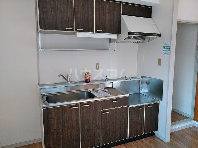 アピカル千王 205号室のキッチン