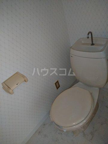 アピカル千王 205号室のトイレ