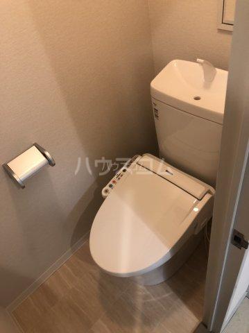 アピカル千王 405号室のトイレ