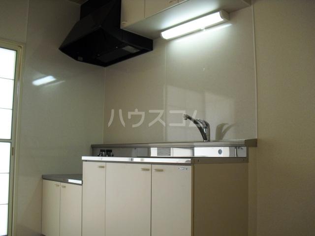 ブルーハイツ冨C 103号室のキッチン