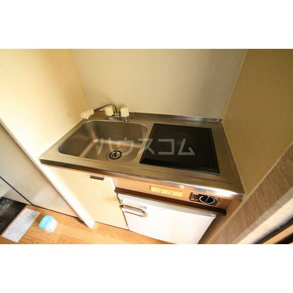 Livex前田 104号室のキッチン