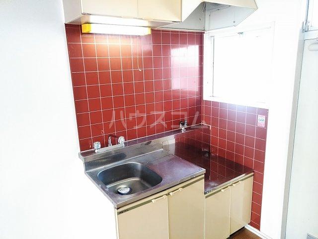 フラッツウサミ 201号室のキッチン