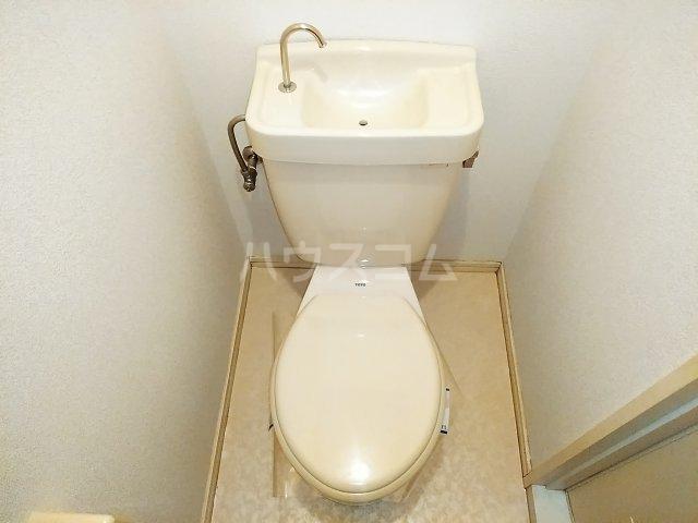 フラッツウサミ 201号室のトイレ