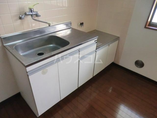 伊藤ハイム 201号室のキッチン