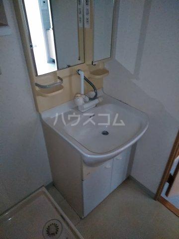 桜フラッツ 204号室の洗面所