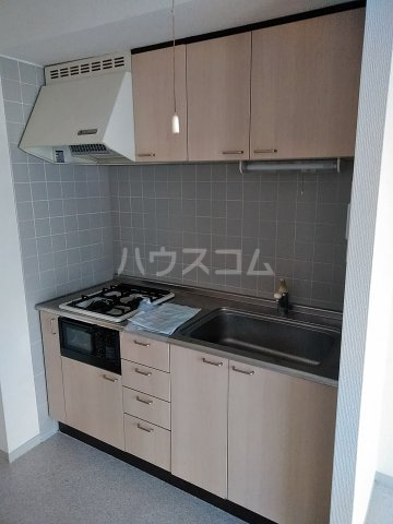 桜フラッツ 204号室のキッチン