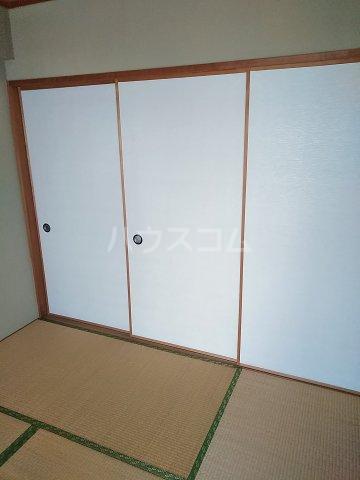 桜フラッツ 204号室の収納