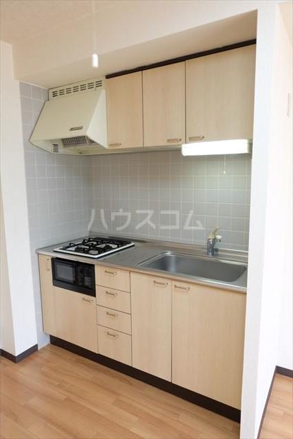 桜フラッツ 402号室のキッチン
