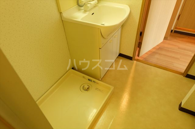 桜フラッツ 402号室の洗面所