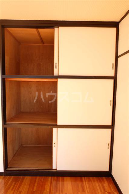 第2ミリオンパーク 203号室の収納