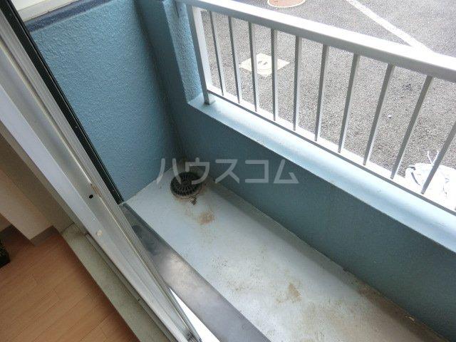 カーサ武蔵 107号室のバルコニー