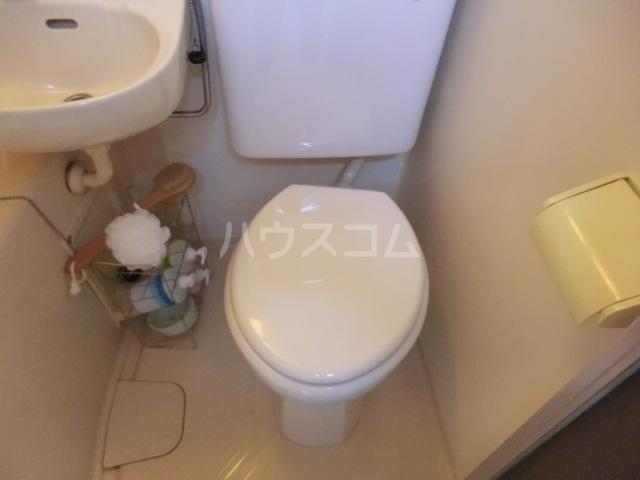 カーサ武蔵 107号室のトイレ