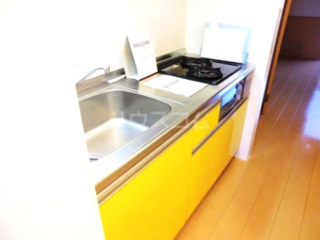 サンビレッジⅡ 202号室のキッチン