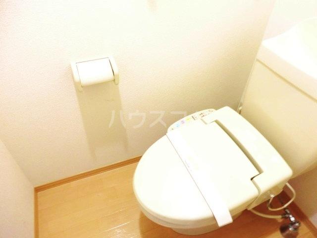 サンビレッジⅡ 202号室のトイレ