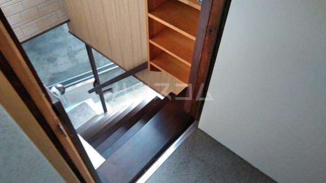 鈴木アパート E号室の玄関