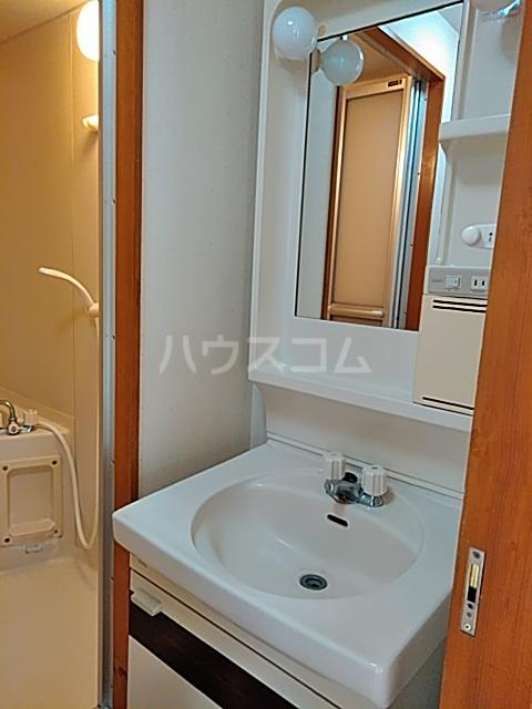 東マンションⅡ 5-A号室の洗面所