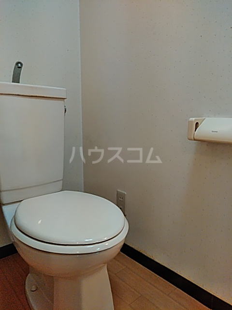 東マンションⅡ 5-A号室のトイレ