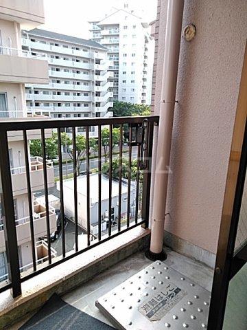 東マンションⅡ 5-A号室のバルコニー