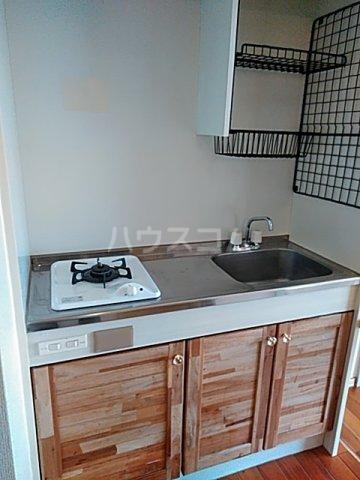 ユトリロ曙 1-D号室のキッチン