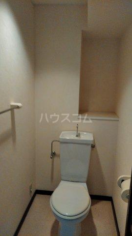 エスポア曙 503号室のトイレ