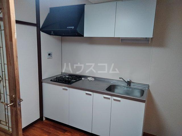 ユトリロ下地3 202号室のキッチン