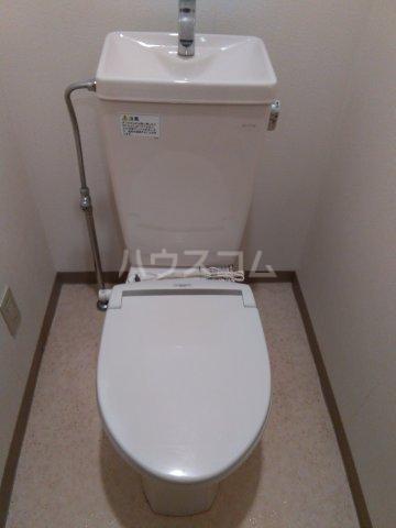 リベルテONE 103号室のトイレ