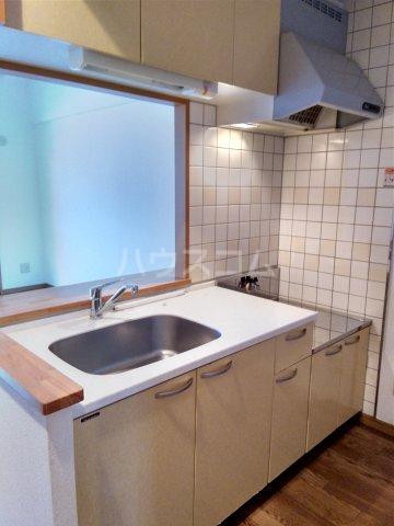 リベルテONE 103号室のキッチン