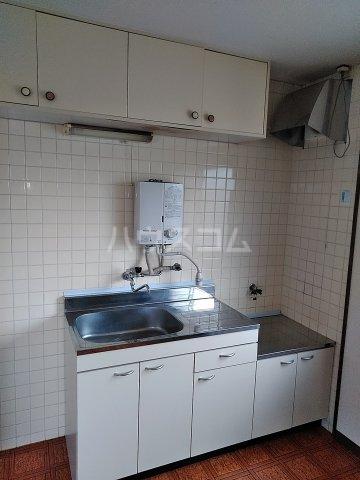ハイツ明和 A 402号室のキッチン