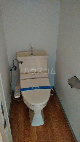 エクシード36 107号室のトイレ