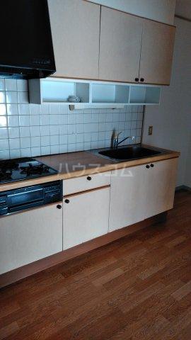 エクシード36 107号室のキッチン