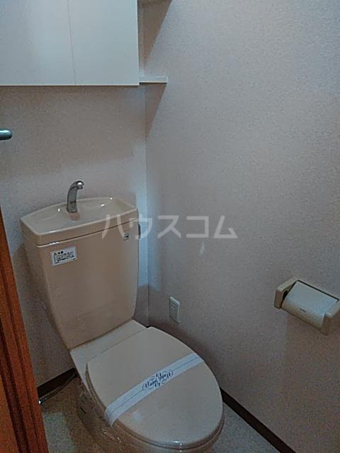 ビアンシュール美園 306号室のトイレ