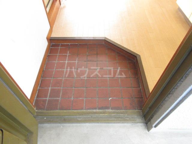 富田ハイツ 202号室の玄関