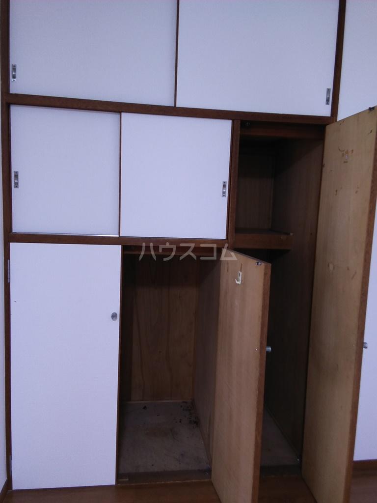 白河ハイツ 501号室の収納
