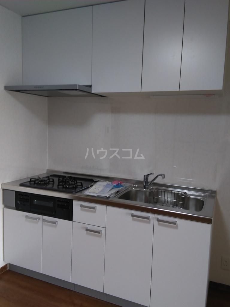 白河ハイツ 501号室のキッチン