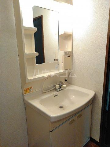 シェスタヴィラ弐番館 302号室の洗面所